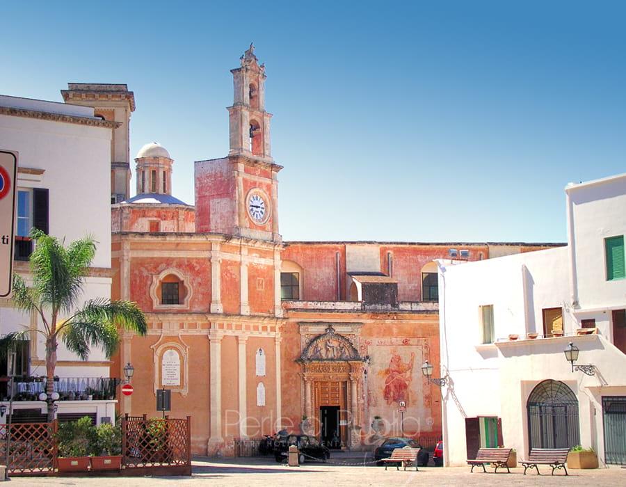 Piazza Umberto I - Chiesa di San Giovanni Battista - Parabita