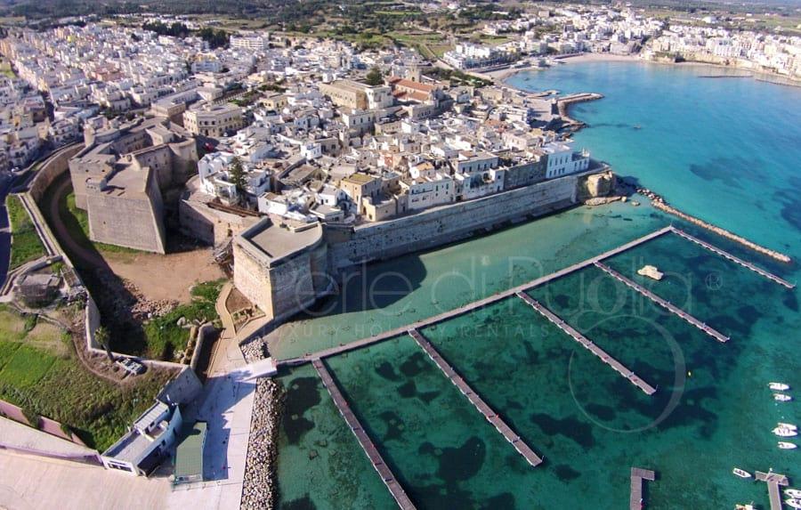 vista aerea di Otranto