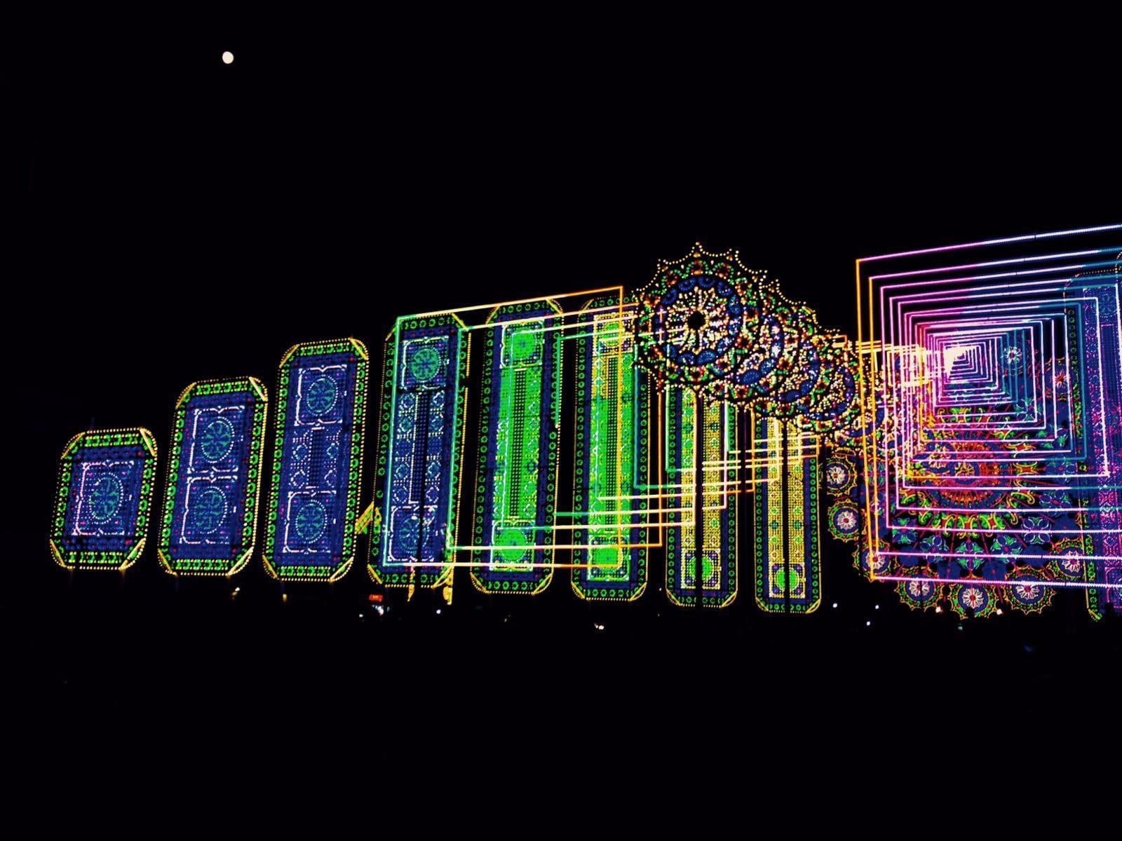 luminarie di Santa Domenica a Scorrano