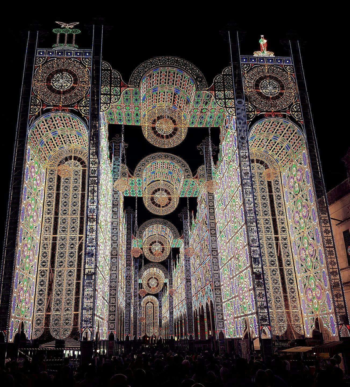 luminarie santa domenica a Scorrano nel Salento