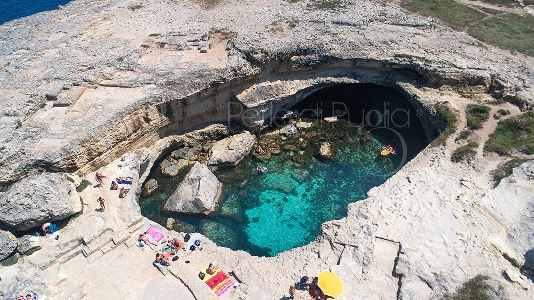La Grotta della Poesia, la piscina più bella in Puglia