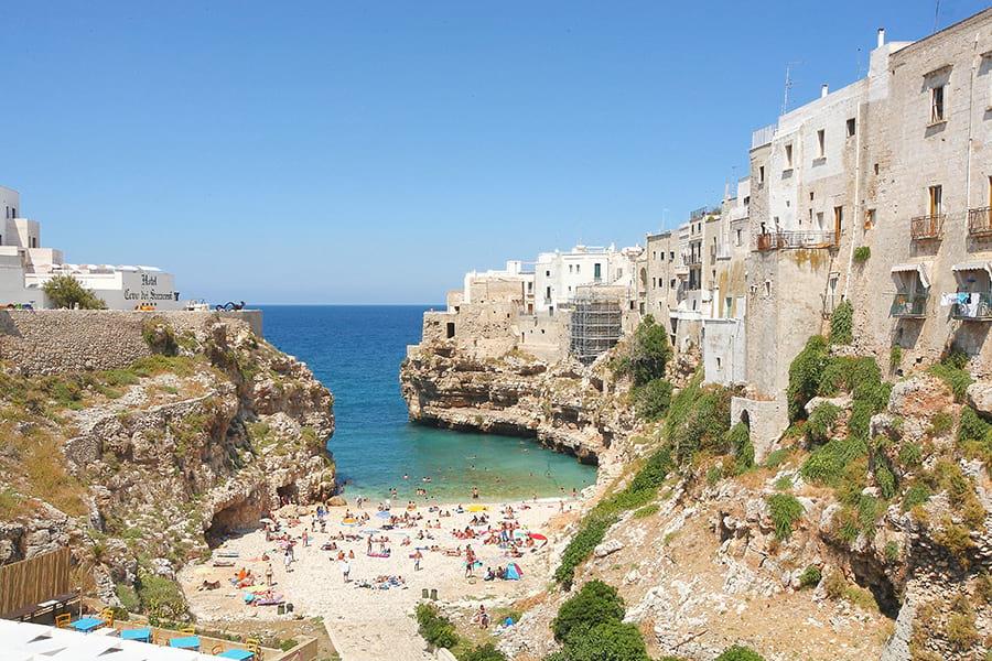 Top 10 spiagge di puglia le spiagge pi belle notizie - Specchia polignano a mare ...