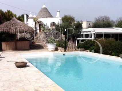 trulli e typical houses - Cisternino ( Brindisi ) - Villa Akia