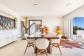Le terrazze ombreggiate con cannucciato si offrono come luogo incantevole per desinare