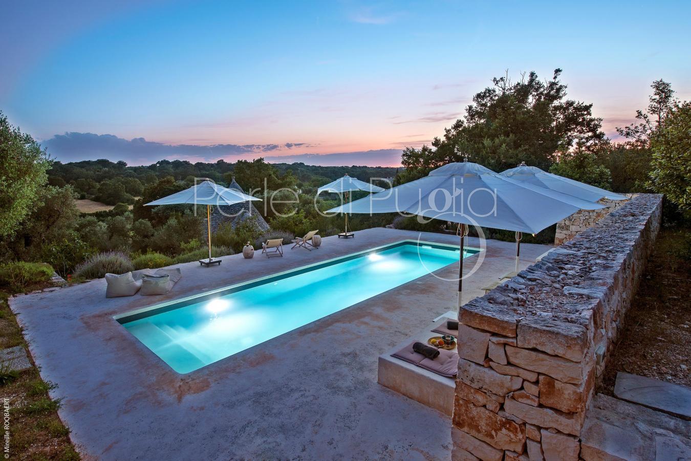 Villa di charme con piscina a ostuni la gastalena for Piscina di lusso