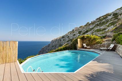 villas de vacances - Gagliano del Capo ( Leuca ) - Villa Miramare - Villa à pic sur la mer