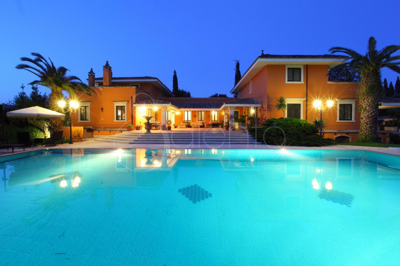 Lecce villa di lusso con piscina e campo da tennis - Ipoclorito di calcio per piscine ...