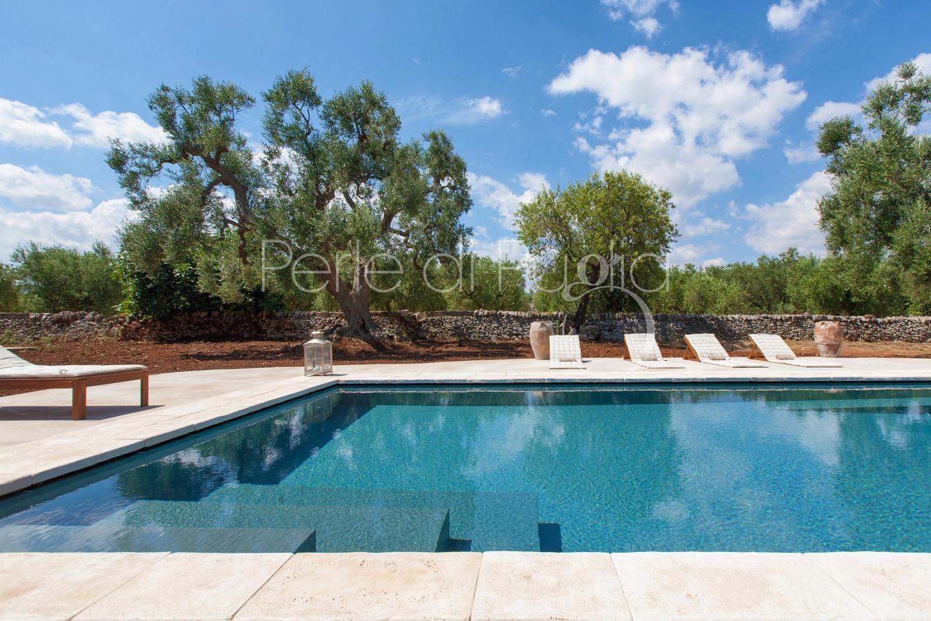 Perle di puglia affitto ville e case di lusso in puglia for Progetti di piscine e pool house