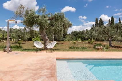 Sono i dettagli che fanno la differenza, nella bella villa in affitto per vacanze in Puglia