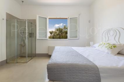 second bedroom with private shower