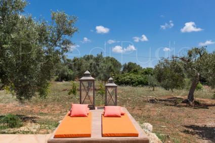area relax in giardino