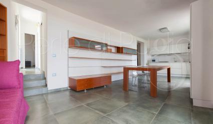 Il grande soggiorno della villa in affitto per vacanze in Puglia, Basso Salento