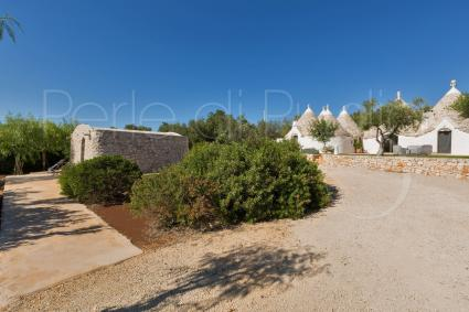trulli e typical houses - Ostuni ( Brindisi ) - Trullo Luna (3 Bedrooms)