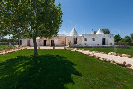 An architectural jewel of trulli and lamiae