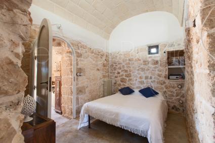 La terza camera da letto è una vera coccola di pietra