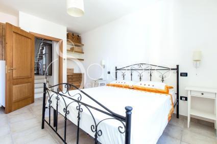 La camera matrimoniale della casa in affitto per vacanze nel Salento