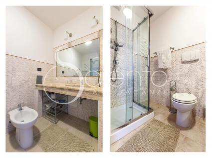 Il bagno doccia al pianterreno