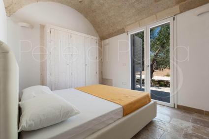 The second double bedroom, in the luxury villa for holiday in Puglia