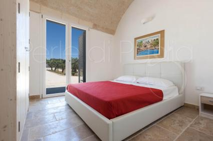 The third double bedroom of the Serrazza, villa with pool for holiday