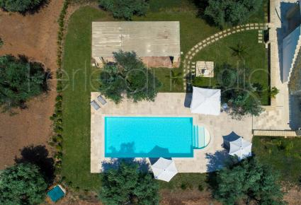 La Serrazza, luxury villa with pool, drone shooting