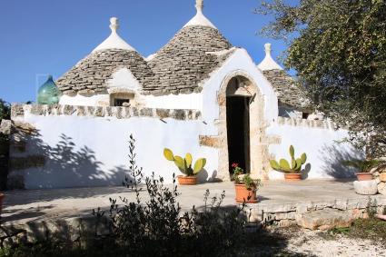trulli e case tipiche - Alberobello ( Bari ) - Trullo del Camerlengo