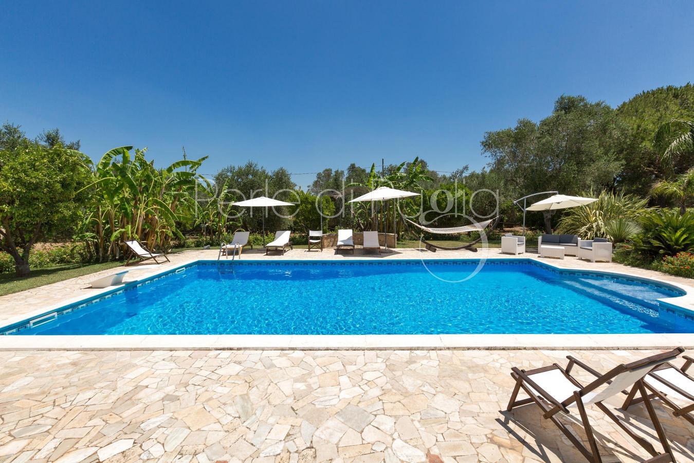 Casa con piscina vicino gallipoli attico vita - Attico con piscina ...