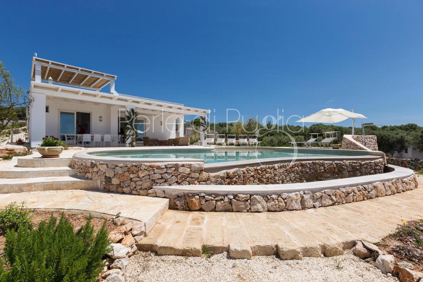 Esclusiva villa con piscina a santa maria di leuca villa - Villa con piscina santa maria di leuca ...