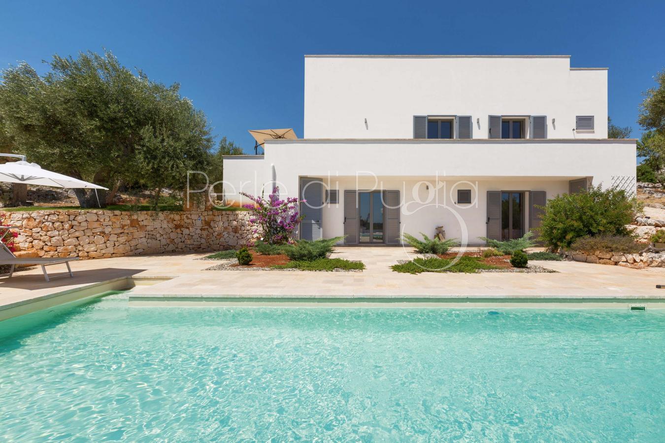 Villa con piscina e vista panoramica in affitto a ostuni - Villa in affitto con piscina ...
