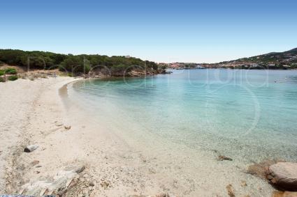 Una delle belle spiagge della famosa meta vacanze in Sardegna