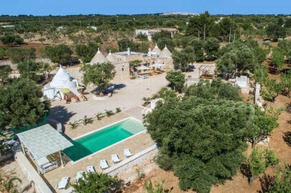Trulli Ion seen from the drone