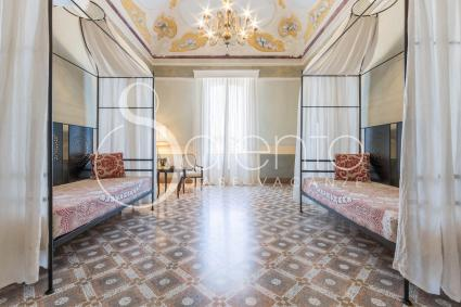 Elsa, la camera quadrupla del B&B Palazzo Fasti, per vacanze nel cuore del Salento