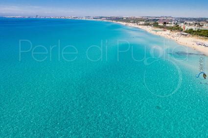 Le spiagge del litorale, per vacanze nel Salento, in Puglia