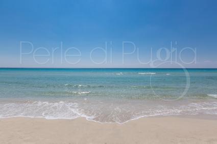 Le spiagge di Baia Verde e il mare, ripresa dal drone