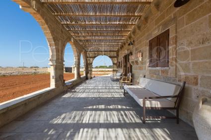 trulli en typische huizen - Corsano - Tiggiano ( Leuca ) - Masseria Curisce