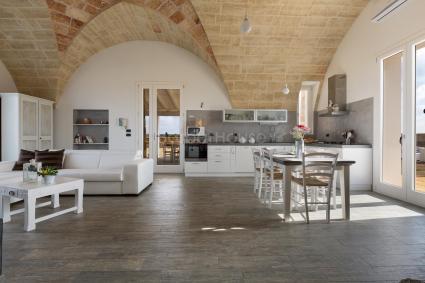 trulli e typical houses - Presicce - Acquarica ( Leuca ) - Villa Toffi