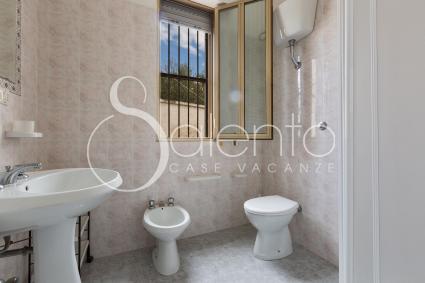 Bagno doccia 1, nella casa vacanze a Punta Prosciutto