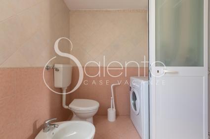 Il bagno doccia 2, con lavatrice