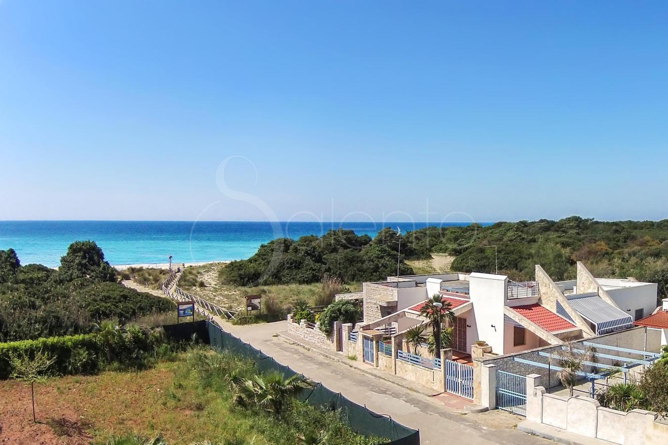 Matrimonio Spiaggia Porto Cesareo : Villetta sulla spiaggia per vacanze a porto cesareo riva