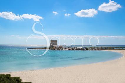 La bellissima spiaggia di Porto Cesareo