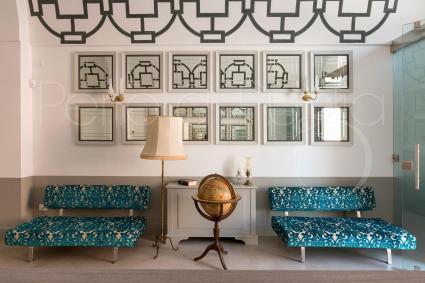 La hall del bed&breakfast di lusso nel centro storico di Casarano