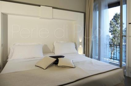La suite dell`Hotel Piccolo a Portofino