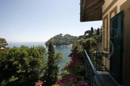 Il panorama che si ammira dal balcone della camera