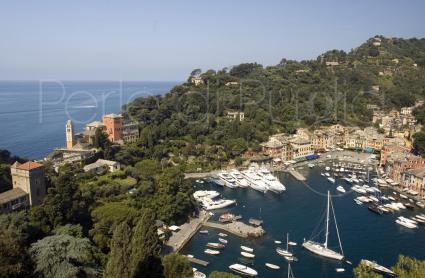 La splendida Portofino, località più famosa della Riviera Ligure