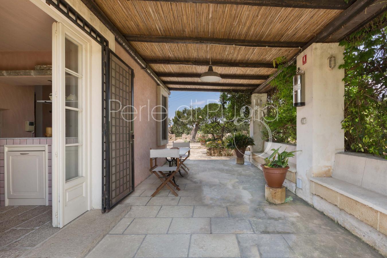 Suite in villa con piscina a sannicola vicino gallipoli for Nuove case con suite suocera