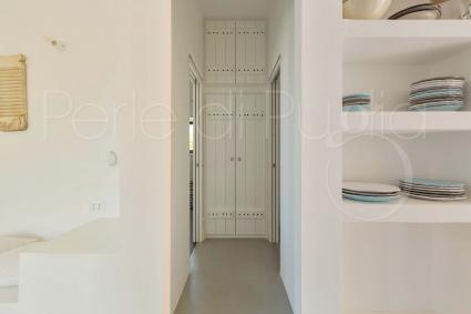 The pantry of the splendid villa with swimming pool for holidays in Puglia