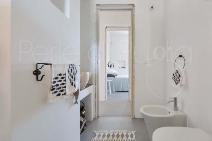 Il bagno di design con doccia