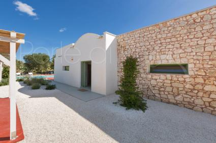 The lamia, traditional structure, now renovated into a luxury villa