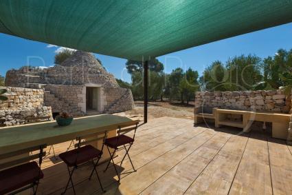 Il trullo, casa tipica ristrutturata per vacanza di lusso in Puglia