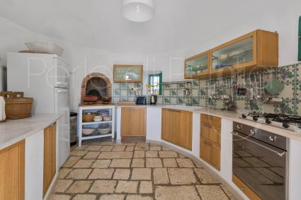 The kitchen of the complex of trulli