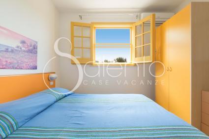La camera della casa vacanze in affitto nel Salento